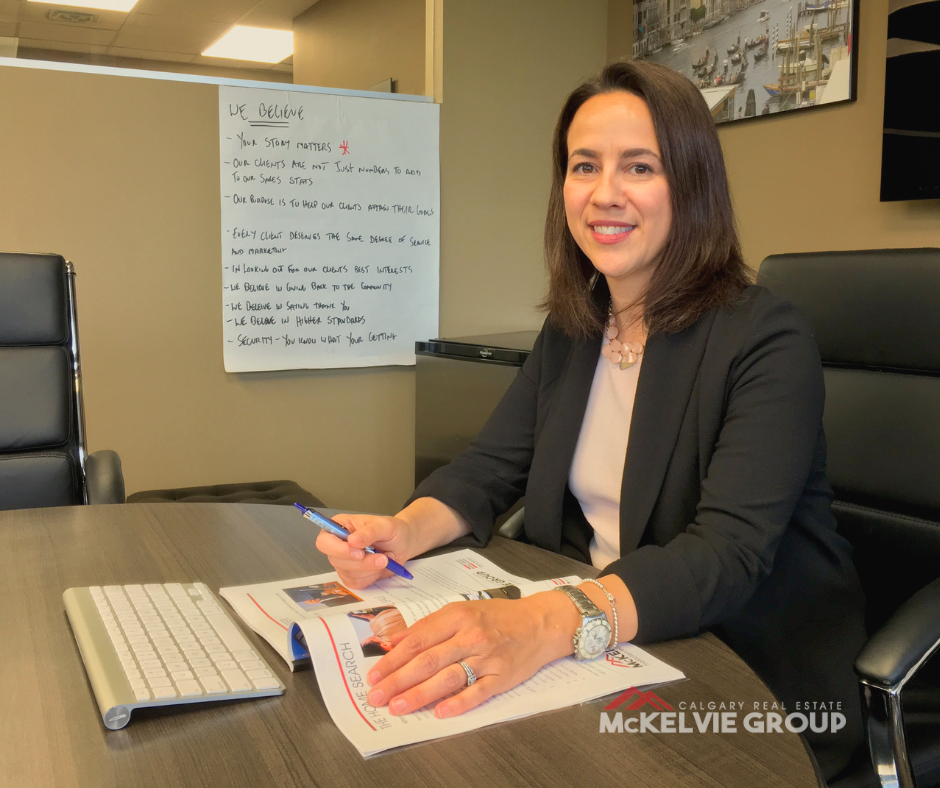 Julie Bouchard Calgary Realtor joins The McKelvie Group